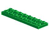 %3034 プレート[緑]2x8