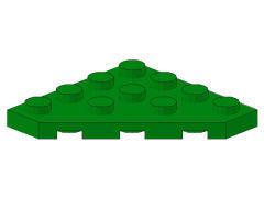 %30503 プレート[緑]4x4(角が3つ)