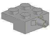 %4488 プレート[旧灰]2x2車輪(小径軸)片側ホルダ