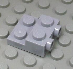 %99206 プレート[新灰]2x2x2/3(横にポッチ)