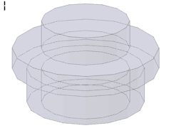 %4073 プレート[透明紫]1x1(丸)