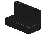 %4865b パネル[黒]1x2x1