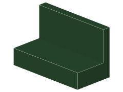 %4865b パネル[濃緑]1x2x1