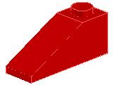 %4286 スロープ33度[赤]3x1(斜面:粒大)