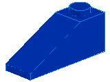%4286 スロープ33度[青]3x1(斜面:粒大)