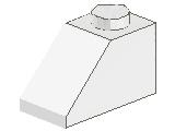 %3040 スロープ45度[白]2x1(斜面:粒大)