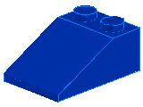 %3298 スロープ33度[青]3x2(斜面:粒大)