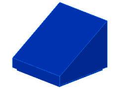 %54200 スロープ33度[青]1x1x2/3