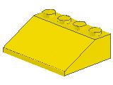 %3297 スロープ33度[黄]3x4(斜面:粒小)