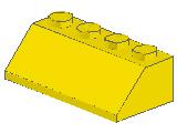 %3037 スロープ45度[黄]2x4(斜面:粒大)