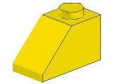 %3040 スロープ45度[黄]2x1(斜面:粒大)
