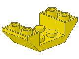 %4871 逆スロープ45度[黄]4x2(両側傾斜、斜面:粒大)
