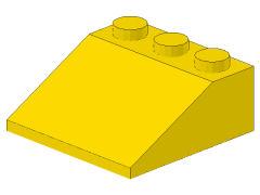 %4161 スロープ33度[黄]3x3(斜面:粒大)