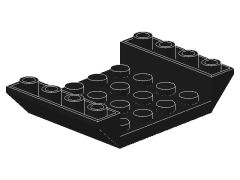 %30283 逆スロープ45度[黒]6x4(両側傾斜、斜面:粒大)