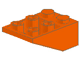 %3747 逆スロープ33度[オレンジ]3x2(斜面:粒大)