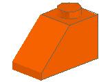 %3040 スロープ45度[オレンジ]2x1(斜面:粒大)