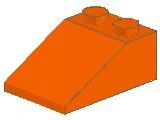 %3298 スロープ33度[オレンジ]3x2(斜面:粒大)