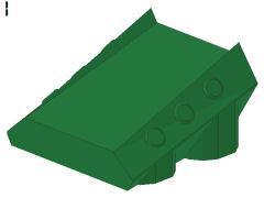 %30603 スロープ[緑]2x2x1(リベット)