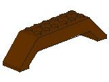 %30180 スロープ45度[旧茶]10x2x2両側傾斜(斜面:粒無)
