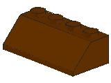 %3037 スロープ45度[旧茶]2x4(斜面:粒大)
