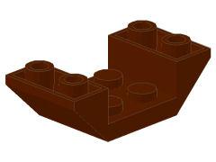 %4871 逆スロープ45度[旧茶]4x2(両側傾斜、斜面:粒大)