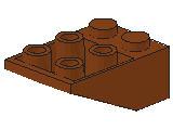 %3747 逆スロープ33度[新茶]3x2(斜面:粒大)