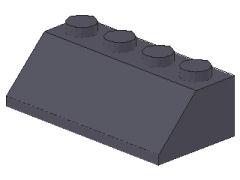 %3037 スロープ45度[新濃灰]2x4(斜面:粒小)