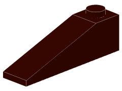 %60477 スロープ18度[濃茶]4x1(斜面:粒大)