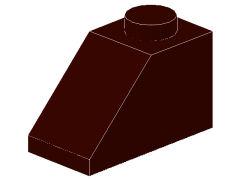 %3040 スロープ45度[濃茶]2x1(斜面:粒大)