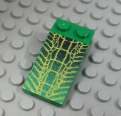 %30363 スロープ33度[緑]4x2(ワニ皮、斜面:粒大)
