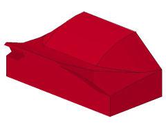 %47458 カーブスロープ[赤]1x2x2/3(ポッチ無)