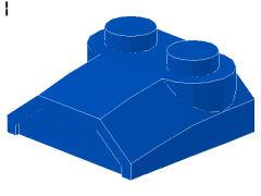 %41855 カーブスロープ[青]2x2x2/3