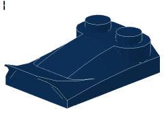 %47456 カーブスロープ[紺]2x3x2/3(ウィング)