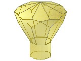 %30153 宝石[透明黄]24面