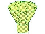 %30153 宝石[透明薄緑]24面
