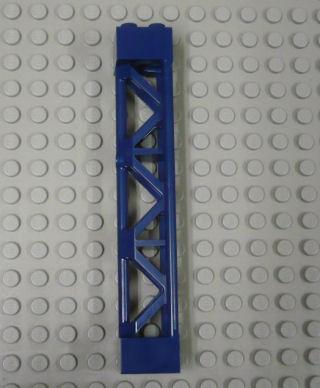 %95347 三本柱[紺]2x2x10(格子、3セクション)