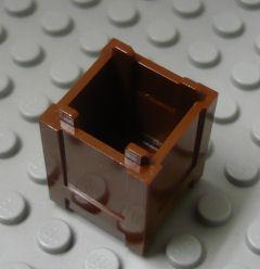 %61780 コンテナ・ボックス[新茶]2x2x2(天井開き)