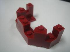 %6066 城壁トップ[エンジ]4x8x2.3