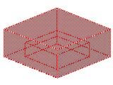 %3070b タイル[透明赤]1x1
