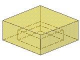 %3070b タイル[透明黄]1x1