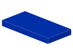 %87079 タイル[青]2x4