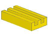 %2412b タイル[黄]1x2グリル