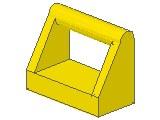%2432 タイル[黄]1x2上部ハンドル付