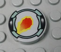 %4150 タイル[旧灰]2x2(円、LoM炎2)