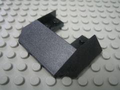 %13269 トレイン屋根[黒]6x4(5方向傾斜)