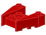 %50373 ウェッジ[赤]3x4(ノッチ)