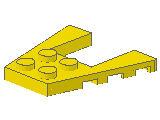 %43719 ウェッジプレート[黄]4x4