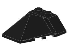 %47757 ウェッジ[黒]4x4(4方向傾斜)