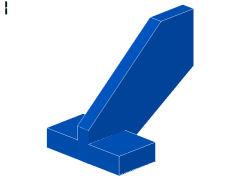 尾翼[青]2x3x2