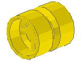 %6014b 車輪[黄](外径11mm 幅12mm 小径軸受)